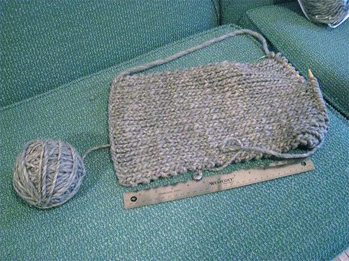 Adam's knitting